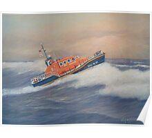 Royal National Lifeboat Instiution (RNLI) Tamar Class Lifeboat Poster