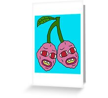 Cherry Bombs Greeting Card