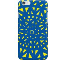 Ihrke Abstract Expression Yellow Blue iPhone Case/Skin