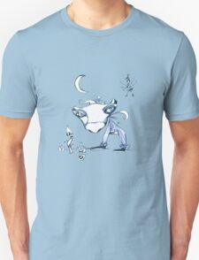 Blue Cow Moon T-Shirt
