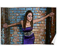 Stunning young new teen model with fantastic eyes Poster