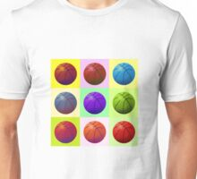 Pop Art Basketball Unisex T-Shirt