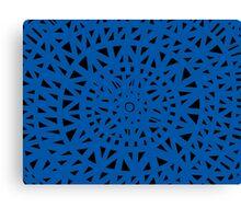 Mcgoogan Abstract Expression Blue Black Canvas Print