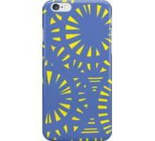 Lapham Abstract Expression Yellow Blue iPhone Case/Skin