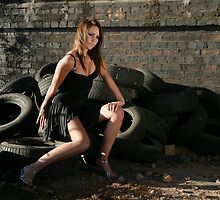 Great shot on tyres stunning new model Roxi by 8oss