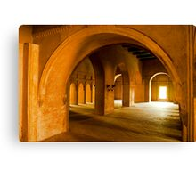 Basket Arch Canvas Print