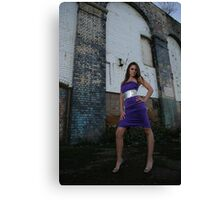 Long legs in great location Roxi  Canvas Print