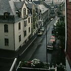 Our last view of Bergen From our B&B Bergen Norway 198406130027  by Fred Mitchell