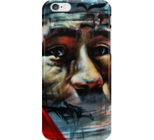 Face on a Wall iPhone Case/Skin