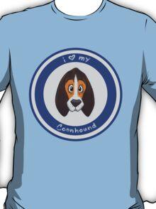 I Love My Coonhound T-Shirt