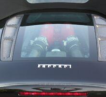 ferrari 430 spider engine view by 8oss