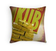 Sin of Greed Throw Pillow