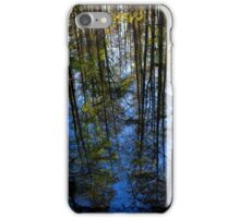 Cypress Tree Reflection iPhone Case/Skin