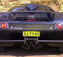 Lamborghini v12 6 litre diablo with batman numberplate by 8oss