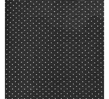 Vintage black and white cute polka dots pattern Photographic Print