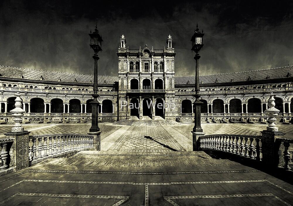 Plaza de España, Sevilla by Paul Webb