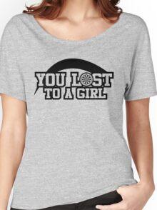 Women's darts T-shirt (black) Women's Relaxed Fit T-Shirt