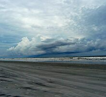 Beach with Clouds by Delany Dean