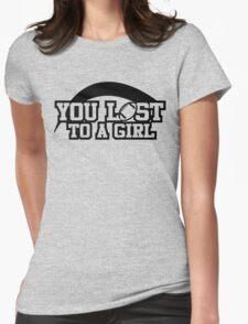 Women's football T-shirt (black) T-Shirt
