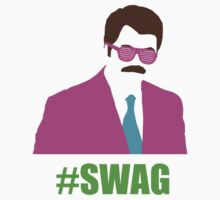 Swagga Ron Swanson by againnagain