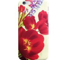My Mom's Pretty Flowers iPhone Case/Skin
