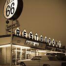 USA New Mexico. Route 66. San Jon. by Alan Copson