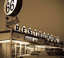 USA New Mexico. Route 66. San Jon. by Alan Copson