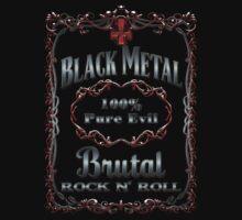 BLACK METAL - 100% PURE EVIL by sleepingmurder