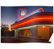 USA. New Mexico. Albuquerque. Route 66 Diner. (Alan Copson ©) Poster