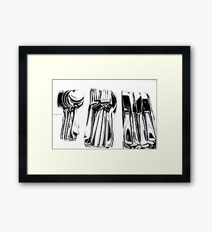 Things Framed Print