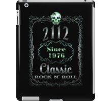 BOTTLE LABEL - 2112 iPad Case/Skin