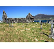 Achil Island cemetery Photographic Print