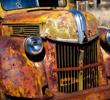 Rusty Old Ford by Linda Gregory