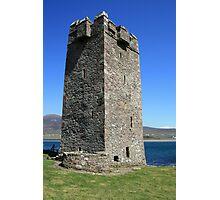 Grainne Mhaols castle 4 Photographic Print