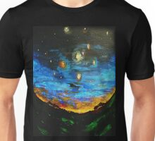 Country Starry Night Unisex T-Shirt