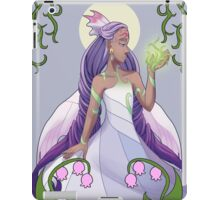 Goddess of the harvest  iPad Case/Skin