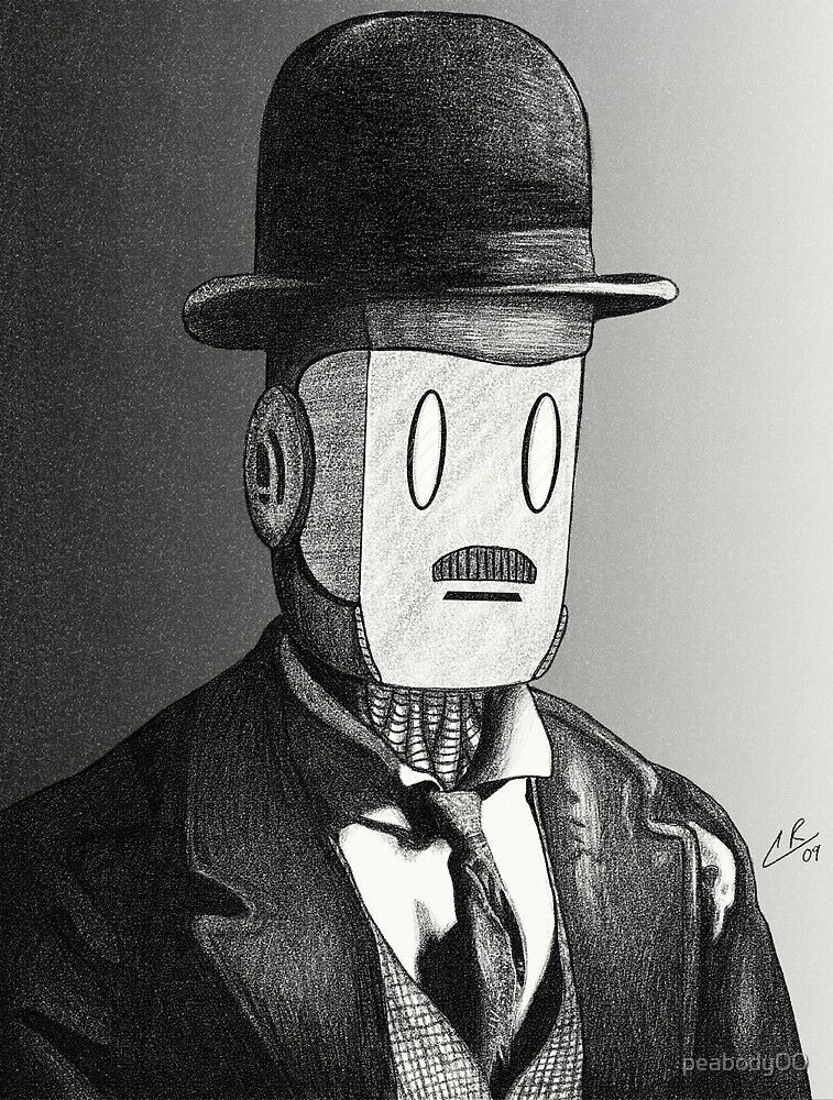 Charlie Chaplin Robot by peabody00