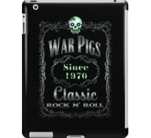 BOTTLE LABEL - CLASSIC ROCK iPad Case/Skin