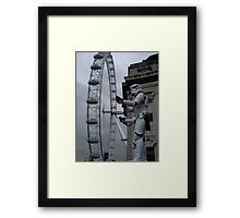 Stormtroopers in London Framed Print