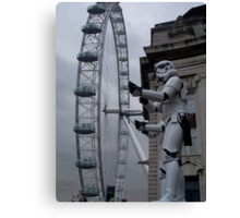 Stormtroopers in London Canvas Print