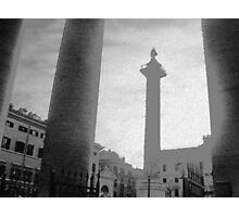 ROME - PIAZZA COLONNA  -  Photographic Print