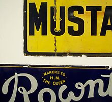 Advertising signs by Robert Steadman