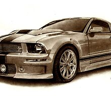 mustang by Martin Hatton