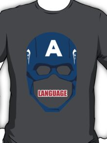 Captain America Language T-Shirt
