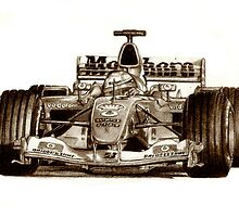 Michael Schumacher F1 by Martin Hatton