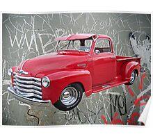 OldNSlo 1949 Chevrolet 3100 Pickup Poster