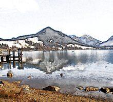 Schliersee in Upper Bavaria by Klaus Offermann