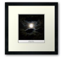 Beware the Moon (c)2015 JSBirnie Framed Print