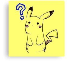 Pikachu? Canvas Print