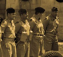 1942- Military Mtarfa by Christian  Zammit